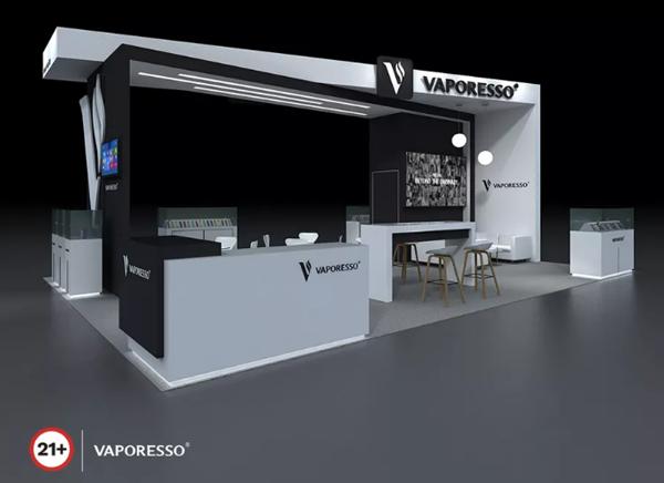 VAPORESSO展位设计图